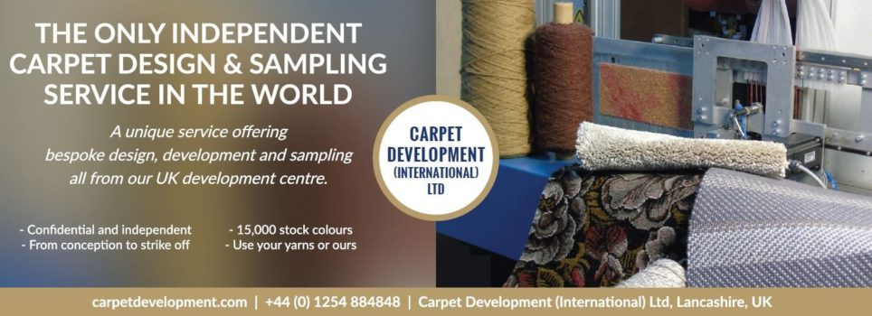 the only independent carpet design company in the world, based in the united kigndom